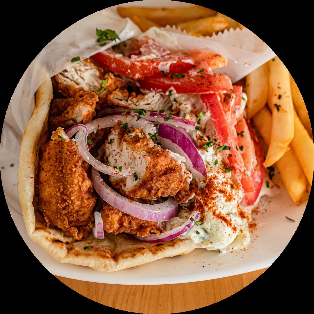 IGTM Crispy Chicken Pita