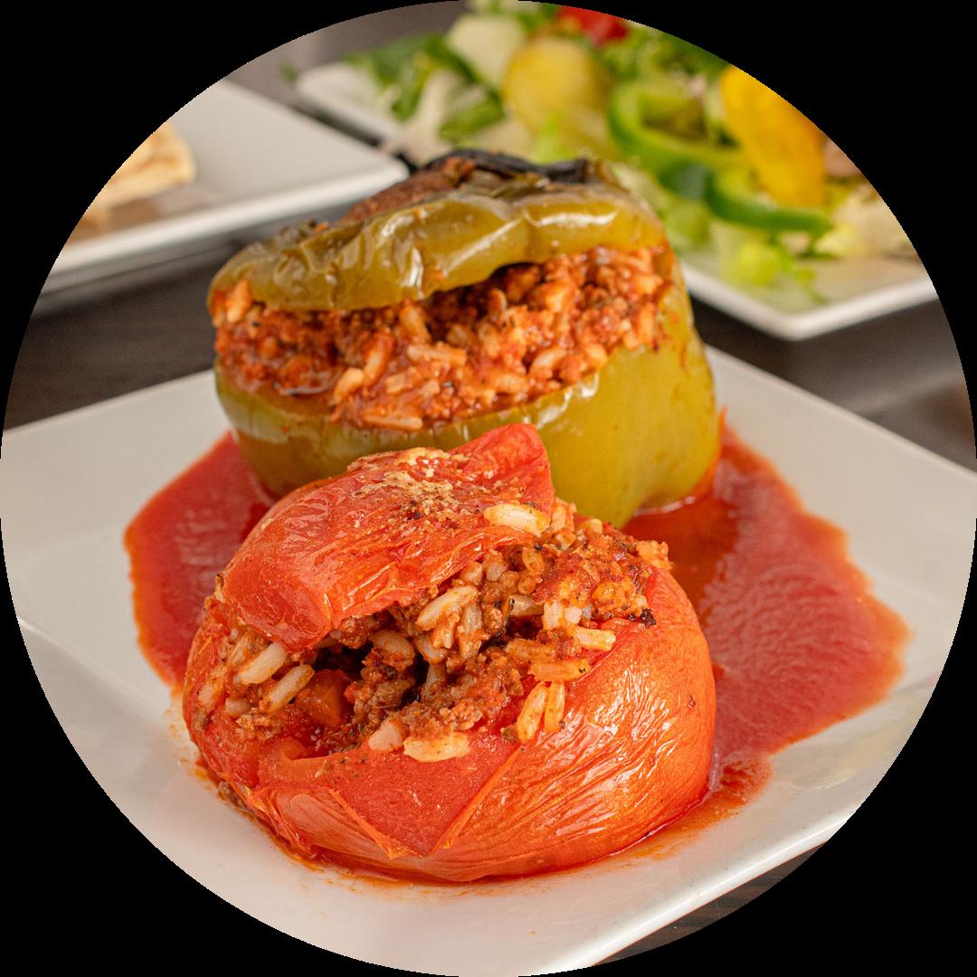 Stuffed Pepper or Stuffed Tomato